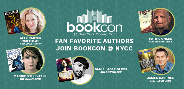 bookcon @ new york comic con fan favorite authors join bookcon @ NYCC