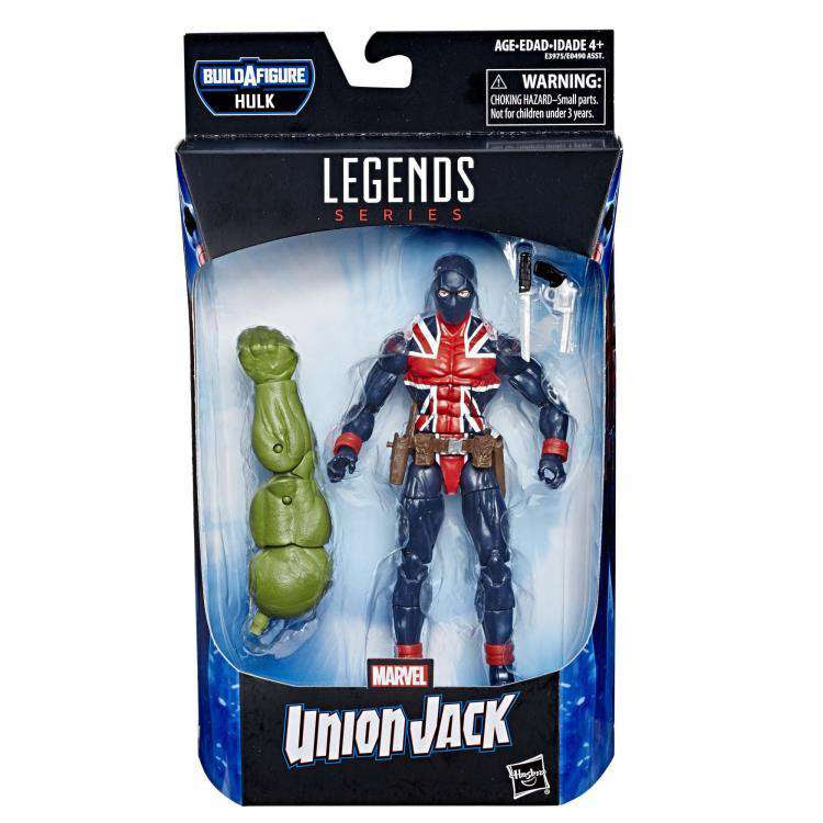 Image of Avengers: Endgame Marvel Legends Union Jack (Hulk BAF) - Wave 2