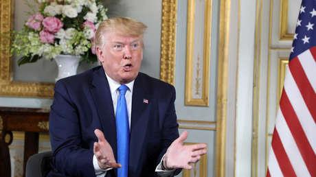 El presidente estadounidense Donald Trump, el 6 de junio de 2019.