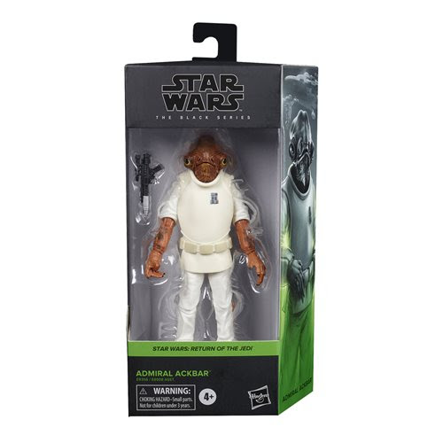 Image of Star Wars The Black Series Wave 5 (2020) Admiral Ackbar 6-Inch Action Figure