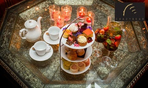 Three Pimms Royale Cocktails and Afternoon Tea