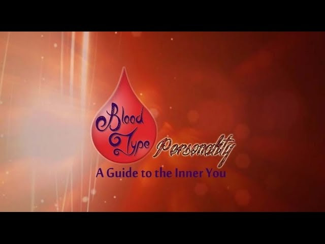 What is your Blood Type Personality?  Sddefault