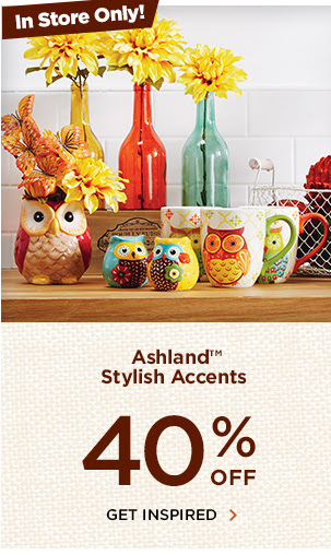 40% off, Get Inspired
