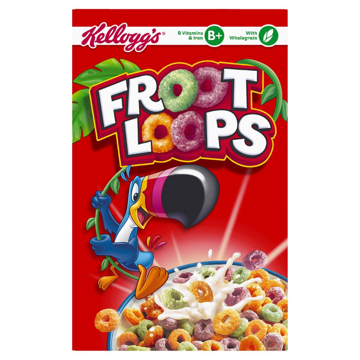 Kellogg's Corn Flakes Froot Loops 350g