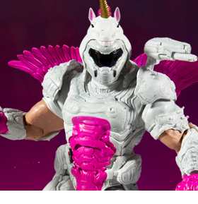 Doom Eternal Doom Slayer (DOOMicorn) Action Figure