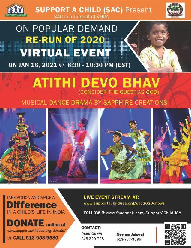 Dance Drama by Sapphire Creations 'Atithi Devo Bhav'