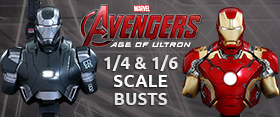 AVENGERS AGE OF ULTRON COLLECTIBLE BUSTS