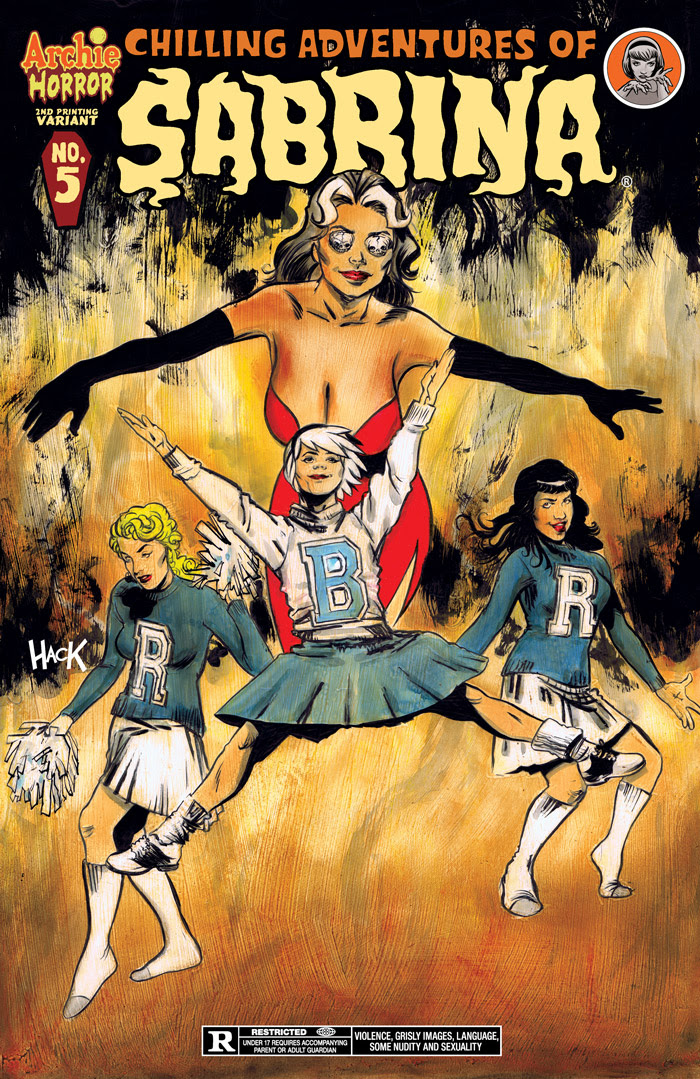 Chilling Adventures of Sabrina #5 2nd Printing Cover by Robert Hack