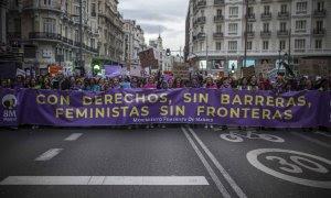 En imágenes: la revuelta feminista llega a todos los rincones de España