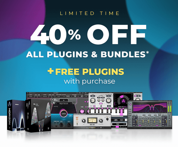 40% OFF + FREE Plugins with purchase