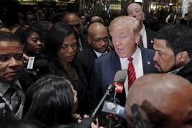 Image result for trump african american images