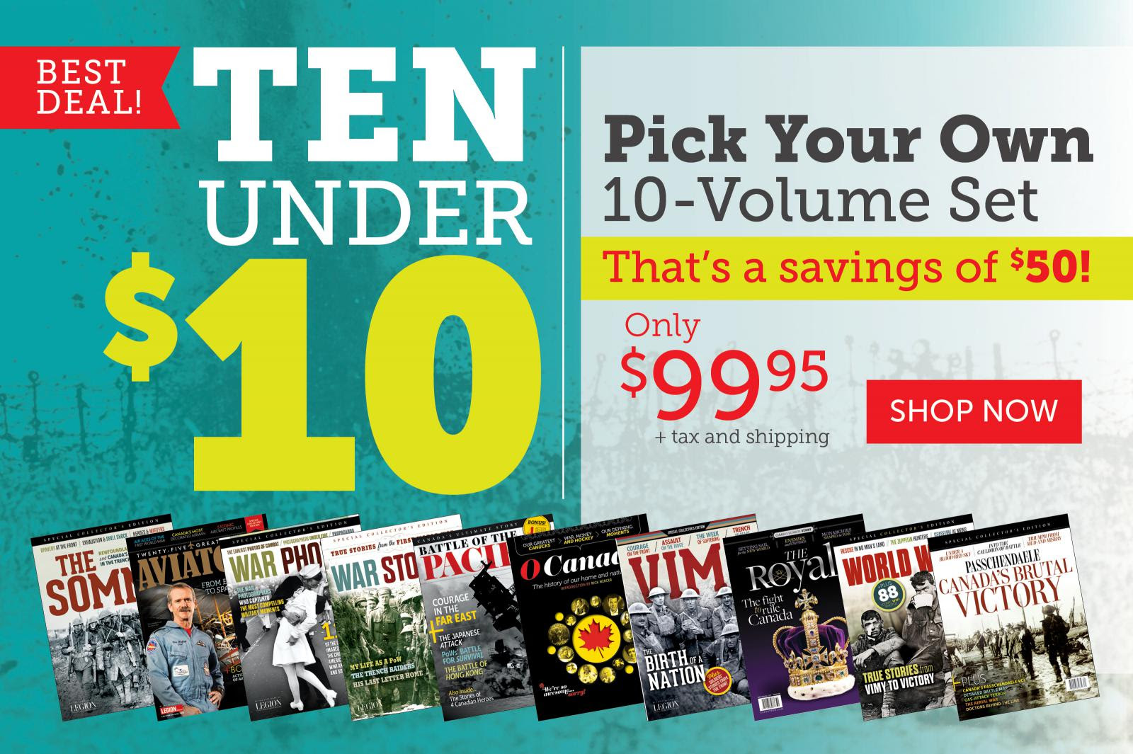 Best Deal! Ten under Ten!
