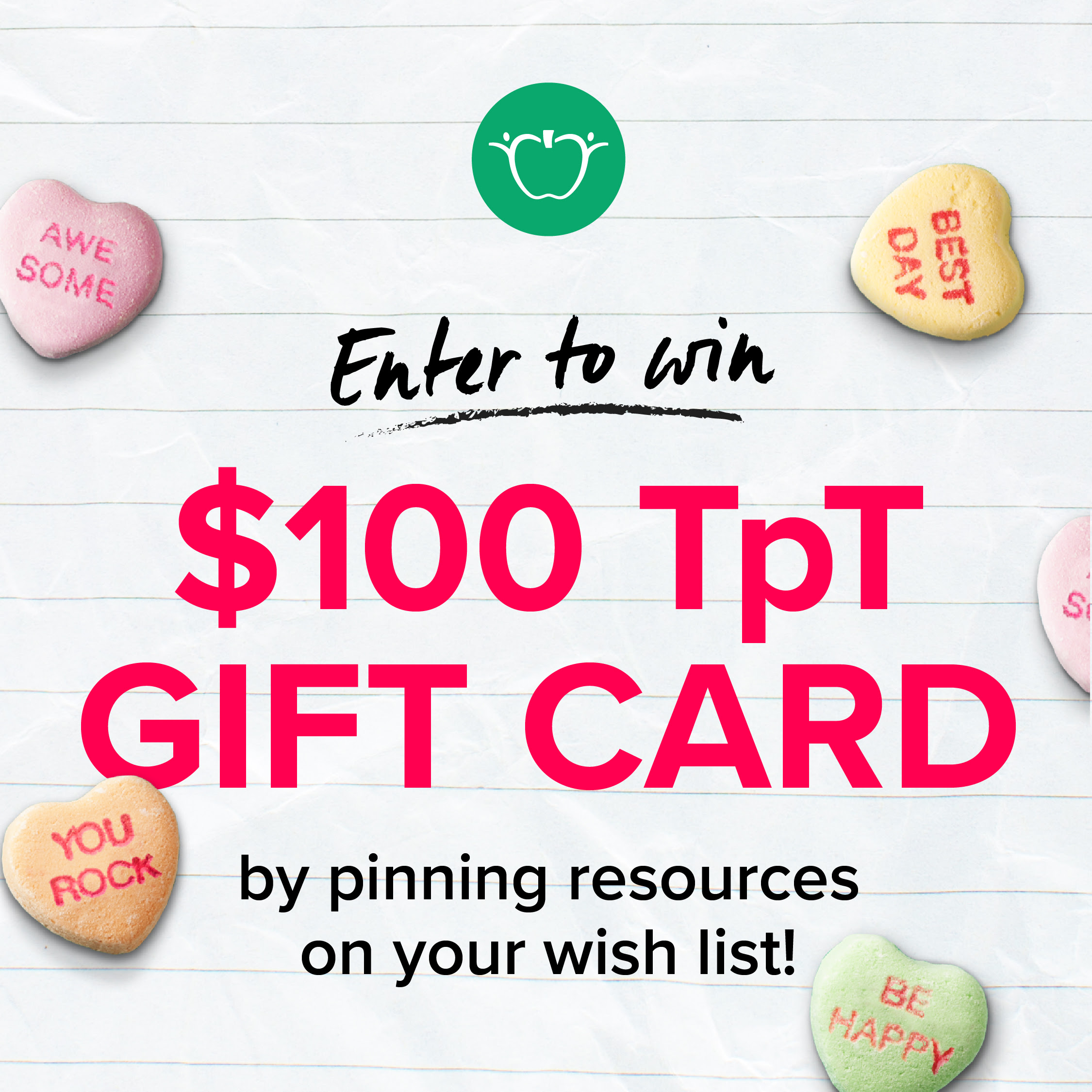 Pin for the Chance to Win