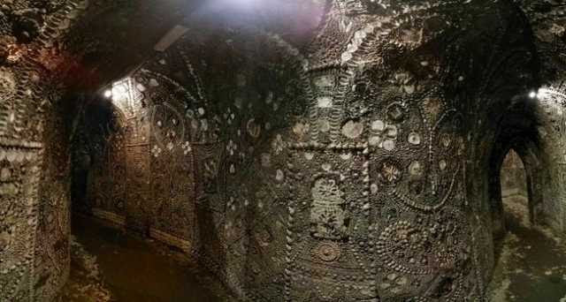 Mysterious Underground Building a Secret Temple