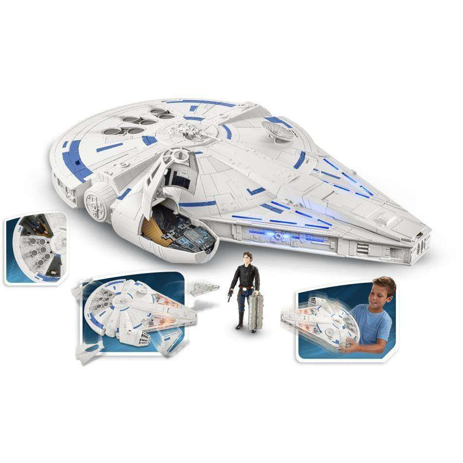 Image of Star Wars Force Link 2.0 Kessel Run Millennium Falcon
