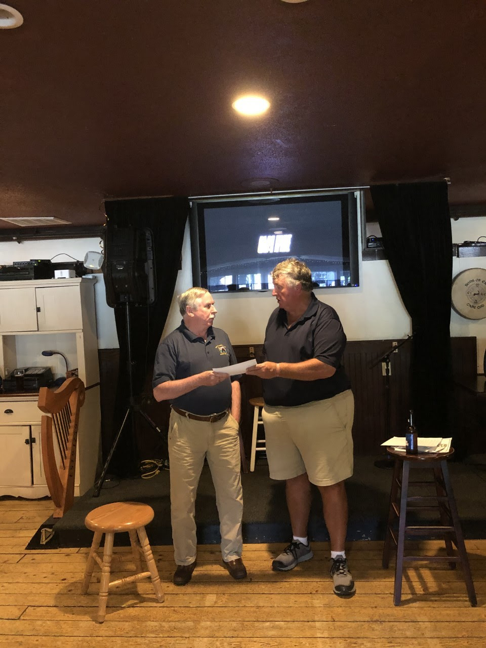 Golf Tournament 2019 donation to vets