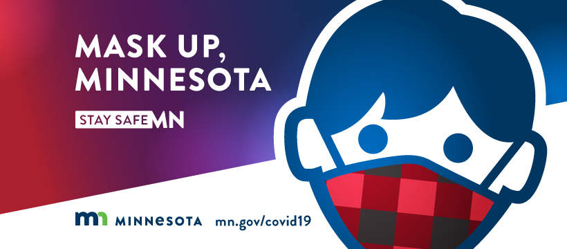 mask up mn graphic