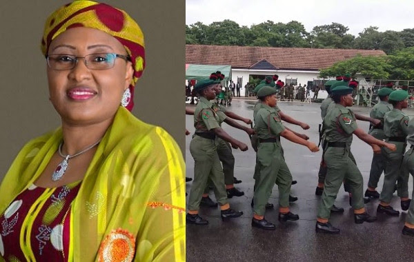 Deploy female soldiers to fight insecurity ? Aisha Buhari