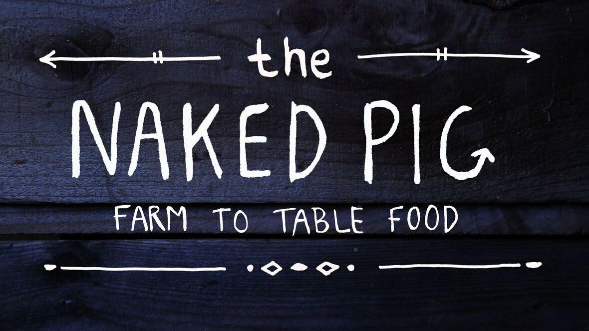 naked pig logo