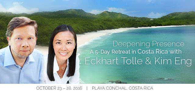 Announcing Eckhart Tolle in Costa Rica