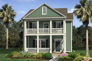 Thompson C home plan by Ryland Homes