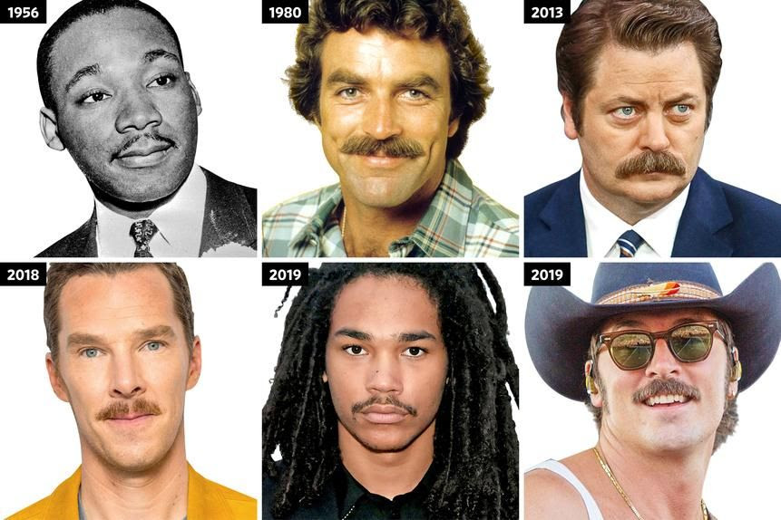 Image result for wall street journal mustaches