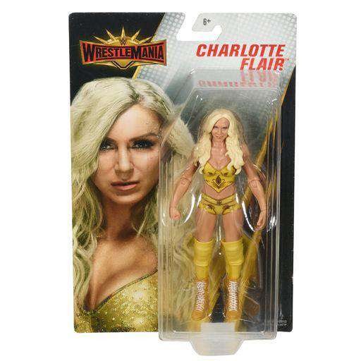 Image of WWE Wrestlemania Elite Collection - Charlotte Flair Action Figure