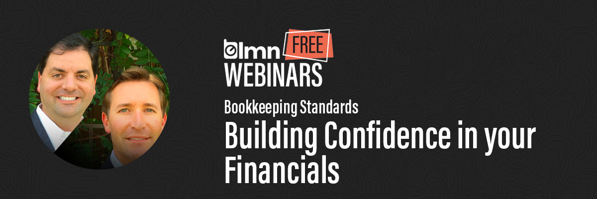 Building Confidence in your Financials