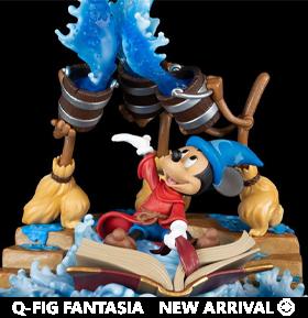 Fantasia Q-Fig Max Elite Sorcerer Mickey Diorama