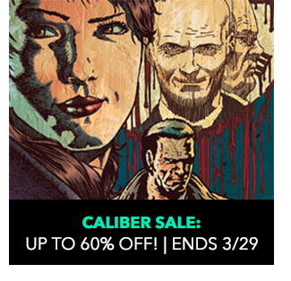 Caliber Sale: up to 60% off! Sale ends 3/29.