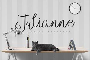 Julianne Script Typeface | -50%
