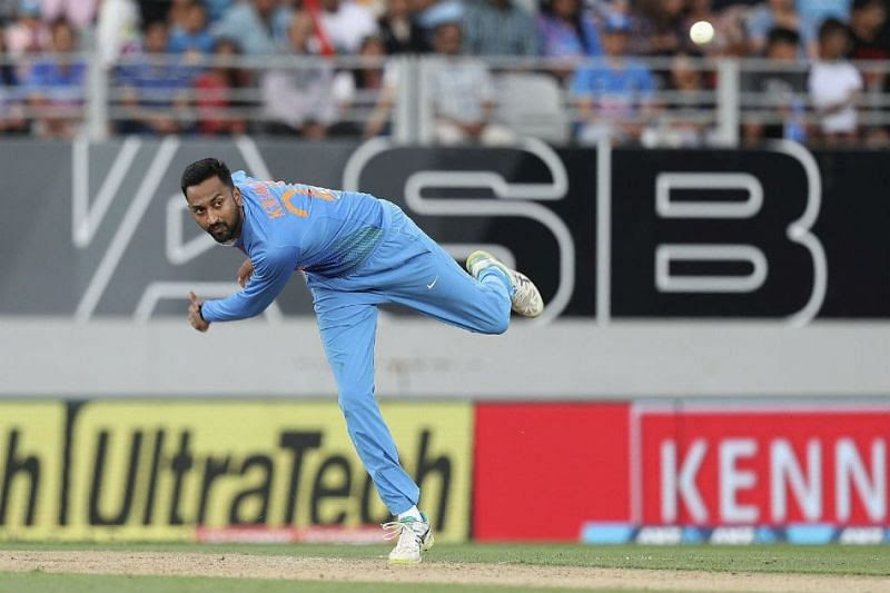 Krunal Pandya bagged the best figures from the series
