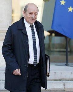 El ministro galo de Defensa, Jean-Yves Le Drian.- EFE