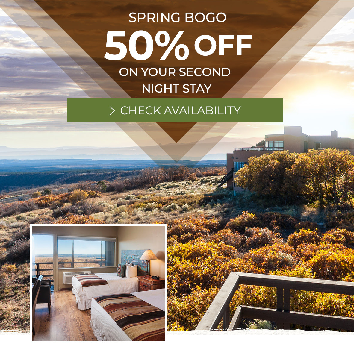 50% Off on your Second Night Stay