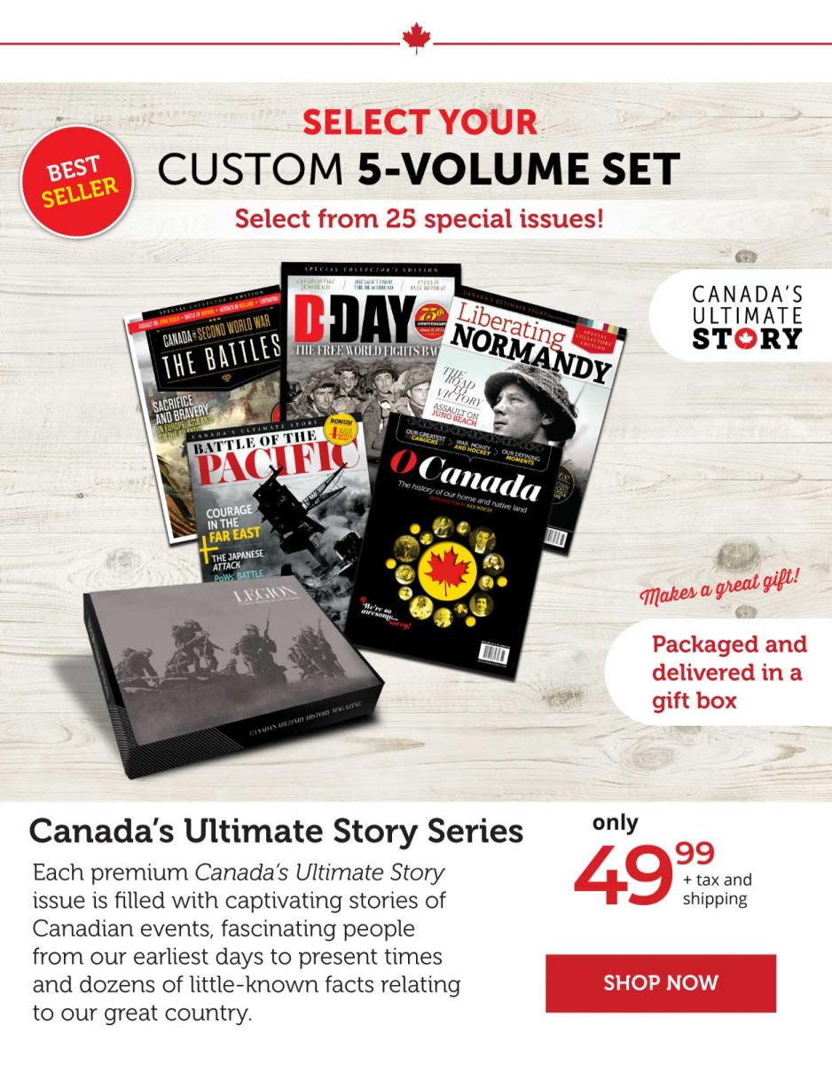 Canada's Ultimate Story Series