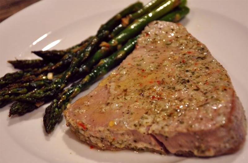 Seasoned Ahi Steak