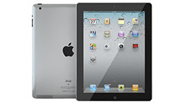iPad 2 Refurbished 16GB WiFi with Folio Case - Black