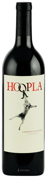 Image result for hoopla cabernet sauvignon 2016