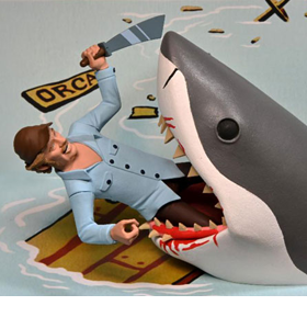 Jaws Toony Terrors Jaws & Quint Two-Pack