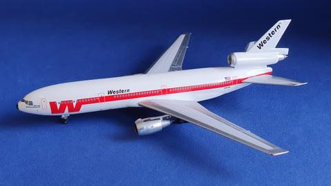 DC-10-10 Western Airlines N910WA