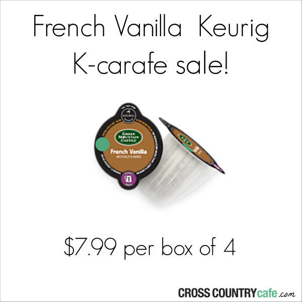 Green Mountain French Vanilla Keurig Kcarafe