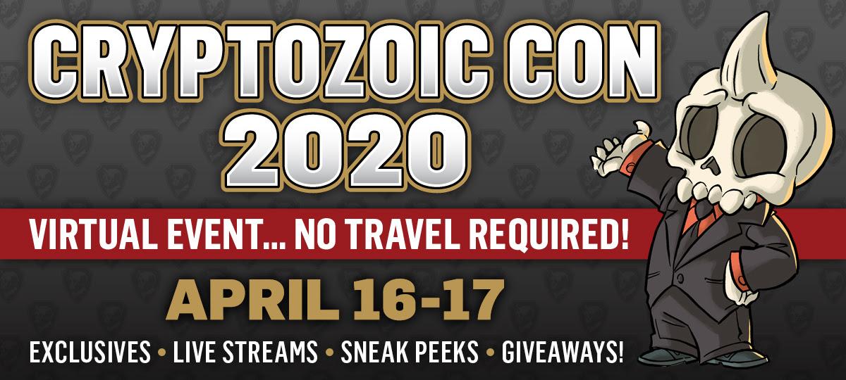 Cryptozoic Con 2020