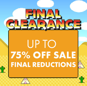 Final clearance up to 75% off on selected top brands Converse, Gstar, Fcuk, Diesel and more at Asos.com