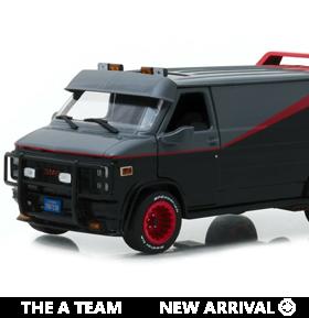 The A Team Hollywood Series 1/24 Scale 1983 GMC Vandura
