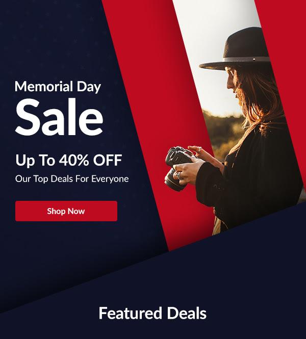 Adorama: Memorial Sale Up to 40% off