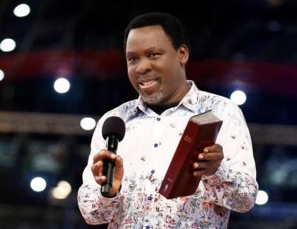 The Danger In Collecting Offerings – TB Joshua