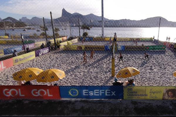 Rio de Janeiro recebe a etapa do Circuito Brasileiro (Divulgação/CBV)
