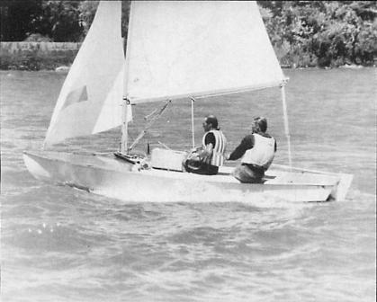 A dupla George Nehm e Nando Krahe. Foto - edição Snipe Bulletin dezembro de 1993