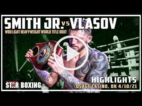 Joe Smith Jr. vs Maxim Vlasov (Highlights)