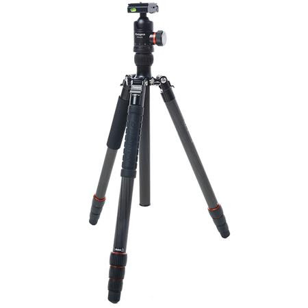 X-Go Max 4-Section Carbon Fiber Tripod with Built-In Monopod, FPH-62Q Ball Head, 26 lbs Ca
